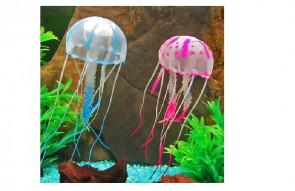 Silikónová medúza modrá