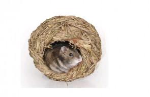 Domček z trávy - iglu - pre drobné hlodavce