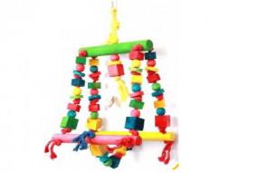 Hračky pre papagáje Double Swing
