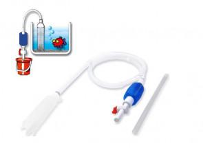 Odkalovač s ventilom a pumpičkou