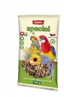Krmivo stredný papagáj