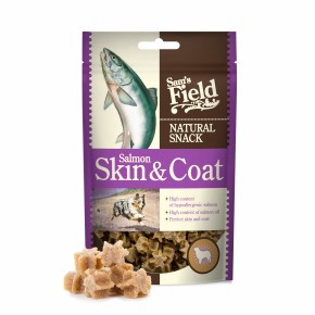 Sams Field Natural Snack Salmon Skin and Coat 200 g