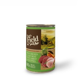 Sam's Field Chicken & Calf Meat With Carrot